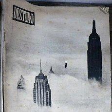Coleccionismo de Revista Destino: REVISTA DESTINO Nº 866 13 DE MARZO DE 1954 FANTASIA EN NUEVA YORK. Lote 121109331