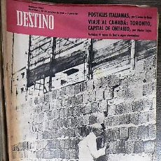 Coleccionismo de Revista Destino: REVISTA DESTINO Nº 1264 28 DE OCTUBRE DE 1961. Lote 121122287