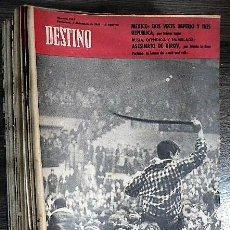 Coleccionismo de Revista Destino: REVISTA DESTINO Nº 1269 2 DE DICIEMBRE DE 1961. Lote 121133543
