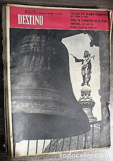 REVISTA DESTINO Nº 1207, 24 DE SEPTIEMBRE DE 1960 (Coleccionismo - Revistas y Periódicos Modernos (a partir de 1.940) - Revista Destino)