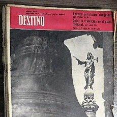 Coleccionismo de Revista Destino: REVISTA DESTINO Nº 1207, 24 DE SEPTIEMBRE DE 1960. Lote 121139399