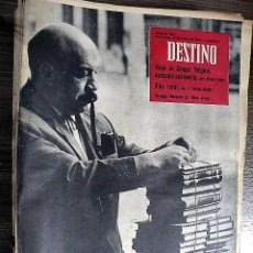 Collectionnisme de Magazine Destino: REVISTA DESTINO Nº 1171, 16 DE ENERO DE 1960. Lote 121150747