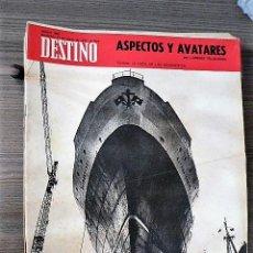 Coleccionismo de Revista Destino: REVISTA DESTINO Nº 1694, 21 DE MARZO DE 1970. Lote 121264727