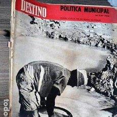 Coleccionismo de Revista Destino: REVISTA DESTINO Nº 1695, 28 DE MARZO DE 1970. Lote 121270079