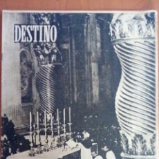 Coleccionismo de Revista Destino: REVISTA DESTINO N°653. AÑO SANTO.. Lote 122692508