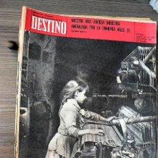 Collectionnisme de Magazine Destino: REVISTA DESTINO Nº 1721, 26 DE SEPTIEMBRE DE 1970. Lote 122907975