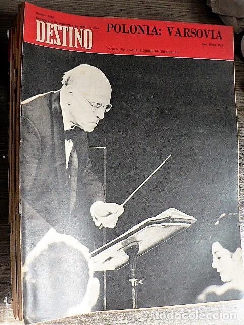 REVISTA DESTINO Nº 1666, 6 DE SEPTIEMBRE DE 1969 (Coleccionismo - Revistas y Periódicos Modernos (a partir de 1.940) - Revista Destino)