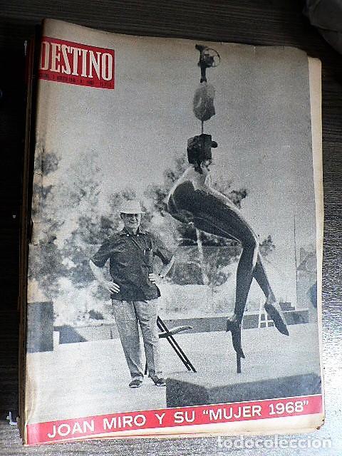 REVISTA DESTINO Nº 1609, 3 DE AGOSTO DE 1968 (Coleccionismo - Revistas y Periódicos Modernos (a partir de 1.940) - Revista Destino)