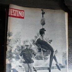 Collectionnisme de Magazine Destino: REVISTA DESTINO Nº 1609, 3 DE AGOSTO DE 1968. Lote 123516539