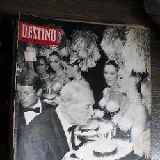 Coleccionismo de Revista Destino: REVISTA DESTINO Nº 1618, 5 DE OCTUBRE DE 1968. Lote 123517151