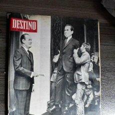 Coleccionismo de Revista Destino: REVISTA DESTINO Nº 1622, 2 DE NOVIEMBRE DE 1968. Lote 123520191
