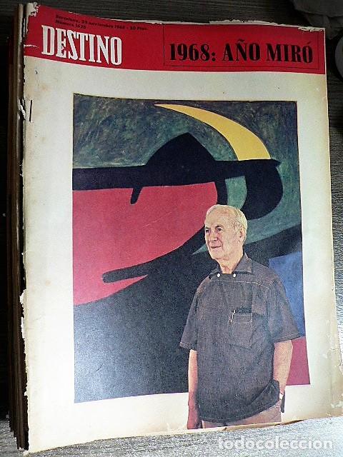 REVISTA DESTINO Nº 1625, 23 DE NOVIEMBRE DE 1968 (Coleccionismo - Revistas y Periódicos Modernos (a partir de 1.940) - Revista Destino)