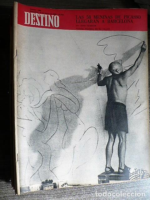 REVISTA DESTINO Nº 1589, 16 DE MARZO DE 1968 (Coleccionismo - Revistas y Periódicos Modernos (a partir de 1.940) - Revista Destino)