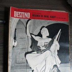 Collectionnisme de Magazine Destino: REVISTA DESTINO Nº 1600, 1 DE JUNIO DE 1968. Lote 123523063