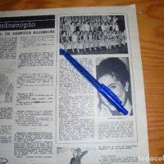 Coleccionismo de Revista Destino: RECORTE PRENSA : MISS HOLANDA, AHORA ES MISS MUNDO. DESTINO, NOVBRE 1962. Lote 126627075
