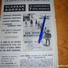 Coleccionismo de Revista Destino: PUBLICIDAD DE LA PELICULA : LOS SIETE MAGNIFICOS. YUL BRYNNER. DESTINO, ABRIL 1961. Lote 126628963