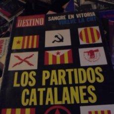 Collectionnisme de Magazine Destino: REVISTA DESTINO Nº 2006 - MARZO 1976 - TRANSICION CATALUNYA - SANGRE EN VITORIA GORKA KNORR. Lote 127232579