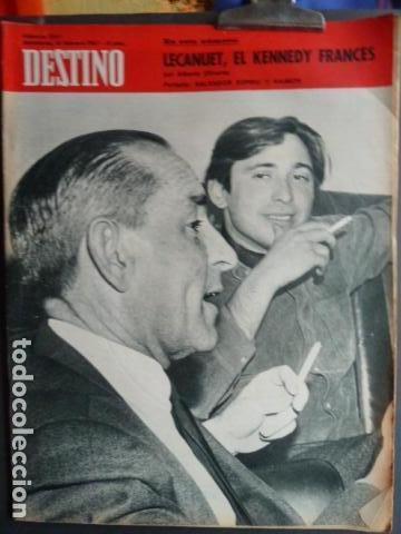 RAIMON Y SALVADOR ESPRIU -PORTADA REVISTA DESTINO (Coleccionismo - Revistas y Periódicos Modernos (a partir de 1.940) - Revista Destino)