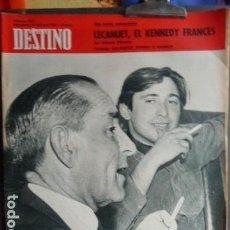 Coleccionismo de Revista Destino: RAIMON Y SALVADOR ESPRIU -PORTADA REVISTA DESTINO . Lote 128110643