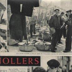 Coleccionismo de Revista Destino: AÑO 1959 GRANOLLERS MERCADO JUEVES MERCAT DEL DIJOUS IGLESIA SANT JOAN ISIL GIL PORTA FERRADA. Lote 131045320