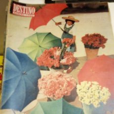 Coleccionismo de Revista Destino: DESTINO Nº 1000 - 6 OCTUBRE 1956 - NUMERO EXTRAORDINARIO DE 88 PAGINAS - V. ALEIXANDRE, PLA, CELA. Lote 131103528