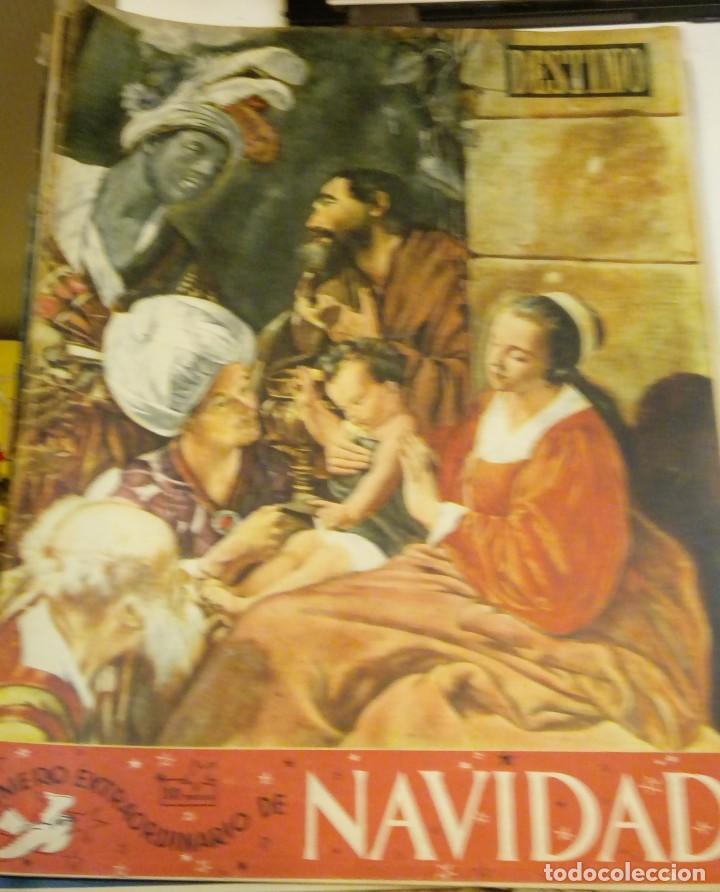 DESTINO Nº 959 - 24 DICIEMBRE 1955 - NUMERO EXTRAORDINARIO DE NAVIDAD - 64 PAGINAS (Coleccionismo - Revistas y Periódicos Modernos (a partir de 1.940) - Revista Destino)