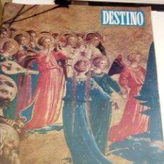 Coleccionismo de Revista Destino: DESTINO Nº 1063 - 21 DICIEMBRE 1957 - NUMERO EXTRAORDINARIO DE NAVIDAD - 100 PAGINAS. Lote 131103744