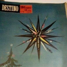 Coleccionismo de Revista Destino: DESTINO Nº 1167 - 19 DICIEMBRE 1959 - NUMERO EXTRAORDINARIO DE NAVIDAD - 104 PAGINAS. Lote 131103960