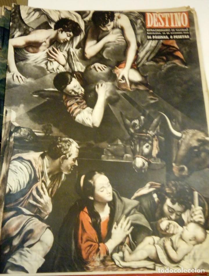 DESTINO Nº 855 - 26 DICIEMBRE 1953 - NUMERO EXTRAORDINARIO DE NAVIDAD - 56 PAGINAS (Coleccionismo - Revistas y Periódicos Modernos (a partir de 1.940) - Revista Destino)
