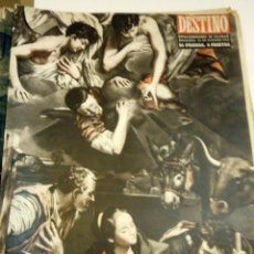 Coleccionismo de Revista Destino: DESTINO Nº 855 - 26 DICIEMBRE 1953 - NUMERO EXTRAORDINARIO DE NAVIDAD - 56 PAGINAS. Lote 131104100