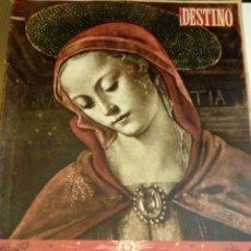 Coleccionismo de Revista Destino: DESTINO Nº 802 - 20 DICIEMBRE 1952 - NUMERO EXTRAORDINARIO DE NAVIDAD - 52 PAGINAS. Lote 131104160