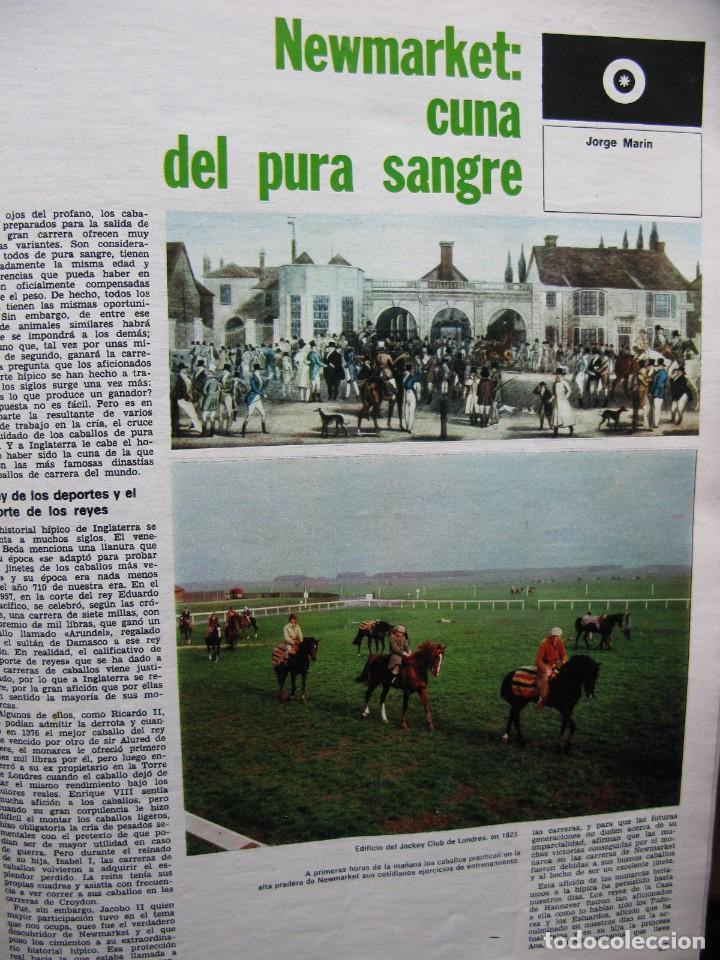 Coleccionismo de Revista Destino: PPRLY - NEWMARKET: CUNA DEL PURA SANGRE. HABLA EL CINE ESPAÑOL: CARLOS SAURA. VER SUMARIO. - Foto 2 - 85451424