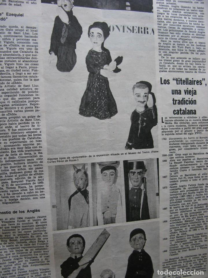 Coleccionismo de Revista Destino: PPRLY - FESTIVAL DE TITELLES JOAN CASTELL. VER SUMARIO. - Foto 2 - 87484128