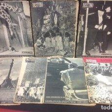Coleccionismo de Revista Destino: LOTE DE 7 REVISTAS DESTINO, AÑOS 50-60. Lote 137913074