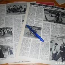 Collectionnisme de Magazine Destino: RECORTE PRENSA : LA ESCUELA DE TOREO DE PEDRUCHO. DESTINO, JUNIO, 1962. Lote 140978322