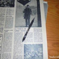 Coleccionismo de Revista Destino: RECORTE PRENSA : BUSTER KEATON, LA VUELTA DE UN GENIO OLVIDADO. DESTINO, ENERO 1963. Lote 141578618