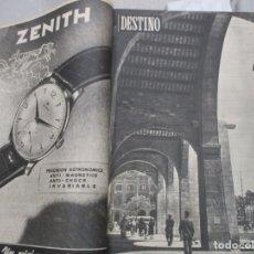 Coleccionismo de Revista Destino: TOMO REVISTA DESTINO AÑO 1954 - DEL 856 AL 881 CORRELATIVOS - 26 EJEMPLARES. Lote 142526410