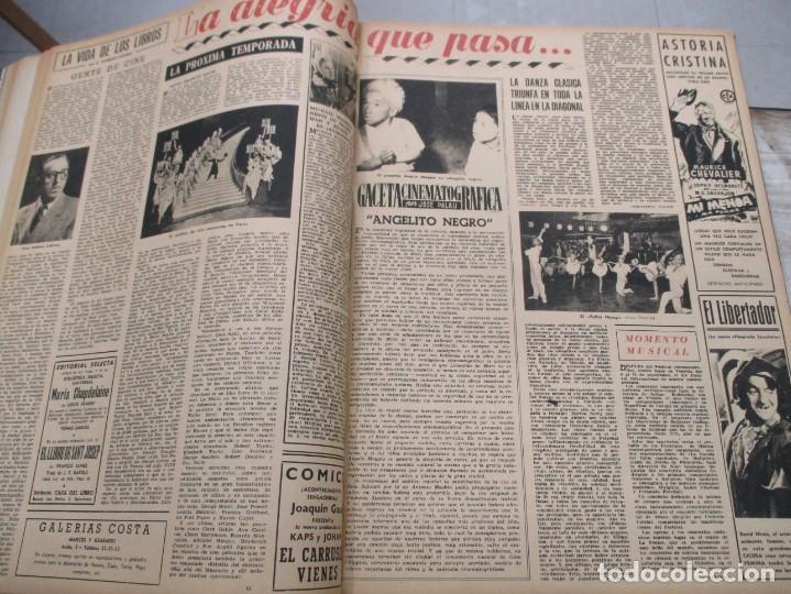 Coleccionismo de Revista Destino: DOS TOMOS REVISTA DESTINO AÑO 1952 - DEL 778 AL 803 CORRELATIVOS - 26 EJEMPLARES CON DOS EXTRAS - Foto 7 - 142700734