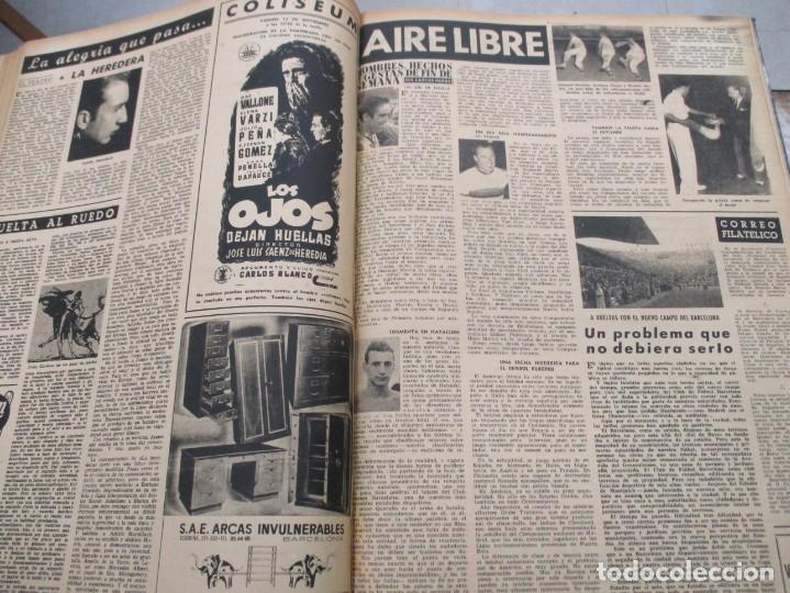 Coleccionismo de Revista Destino: DOS TOMOS REVISTA DESTINO AÑO 1952 - DEL 778 AL 803 CORRELATIVOS - 26 EJEMPLARES CON DOS EXTRAS - Foto 8 - 142700734