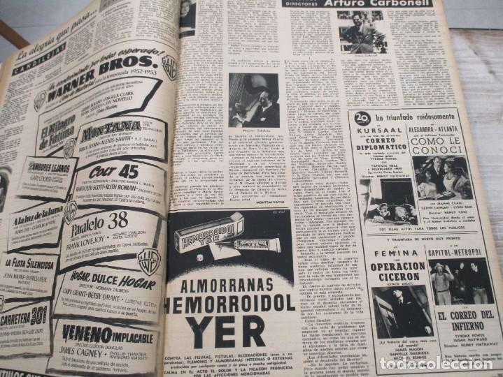 Coleccionismo de Revista Destino: DOS TOMOS REVISTA DESTINO AÑO 1952 - DEL 778 AL 803 CORRELATIVOS - 26 EJEMPLARES CON DOS EXTRAS - Foto 11 - 142700734