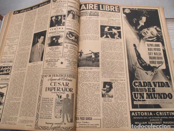 Coleccionismo de Revista Destino: DOS TOMOS REVISTA DESTINO AÑO 1952 - DEL 778 AL 803 CORRELATIVOS - 26 EJEMPLARES CON DOS EXTRAS - Foto 14 - 142700734