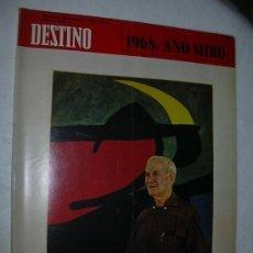 Coleccionismo de Revista Destino: REVISTA DESTINO 1625 DEL 23 NOVIEMBRE 1968. Lote 143081998
