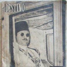 Coleccionismo de Revista Destino: REVISTA DESTINO 1952 EVA PERON, FARUK I DE EGIPTO, MÉXICO DF. Lote 144254410