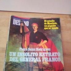 Coleccionismo de Revista Destino: REVISTA DESTINO. UN INSOLITO RETRATO DEL GENERAL FRANCO. ( IMPECABLE).. Lote 144963278