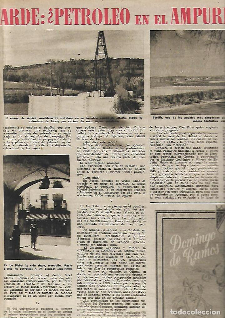 AÑO 1952 ISOSTEROS TUBERCULOSIS FISICOQUIMICA PETROLEO EMPORDA LA BISBAL BORDILS KATHERINE DUNHAM (Coleccionismo - Revistas y Periódicos Modernos (a partir de 1.940) - Revista Destino)