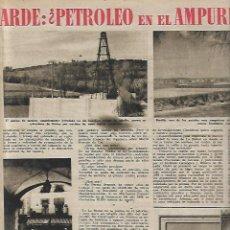 Collectionnisme de Magazine Destino: AÑO 1952 ISOSTEROS TUBERCULOSIS FISICOQUIMICA PETROLEO EMPORDA LA BISBAL BORDILS KATHERINE DUNHAM. Lote 150272578