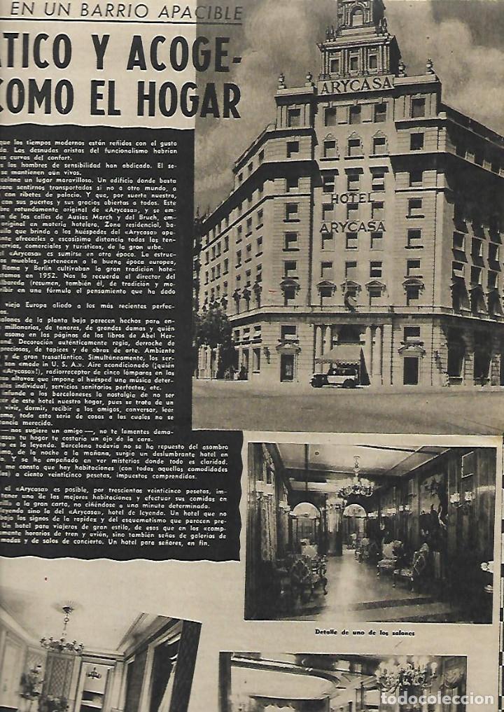 AÑO 1952 DANZAS IBIZA EN GALES HOTEL ARYCASA BARCELONA PARTIDO COMUNISTA FRANCES HOLIDAY ON ICE (Coleccionismo - Revistas y Periódicos Modernos (a partir de 1.940) - Revista Destino)