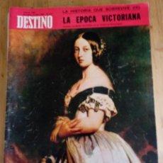 Coleccionismo de Revista Destino: REVISTA DESTINO Nº 1595 - ABRIL 1968 - SUMARIO EN FOTO. Lote 154299062