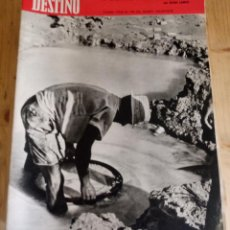 Coleccionismo de Revista Destino: REVISTA DESTINO Nº 1695 - MARZO 1970 - SUMARIO EN FOTO. Lote 154300158