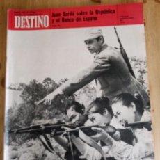 Collectionnisme de Magazine Destino: REVISTA DESTINO Nº 1742 - FEBRERO 1971 - SUMARIO EN FOTO. Lote 154300634